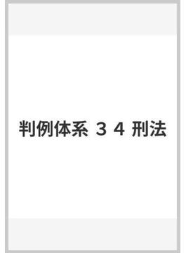 判例体系 34 刑法