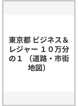東京都 ビジネス&レジャー 10万分の1