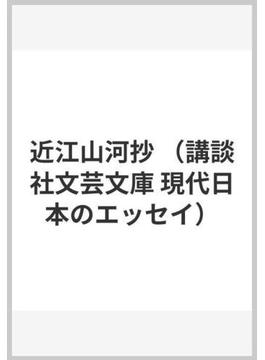近江山河抄(講談社文芸文庫)