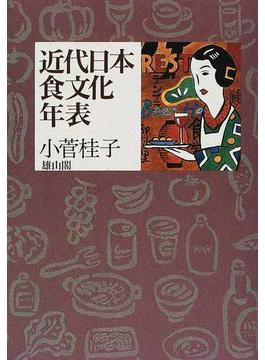 近代日本食文化年表