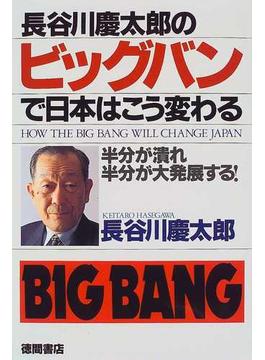 長谷川慶太郎のビッグバンで日本はこう変わる 半分が潰れ、半分が大発展する!