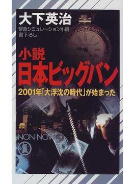 小説日本ビッグバン 2001年「大浮沈の時代」が始まった(ノン・ノベル)