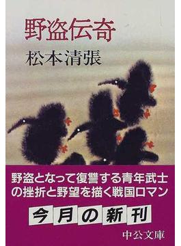 野盗伝奇 改版(中公文庫)