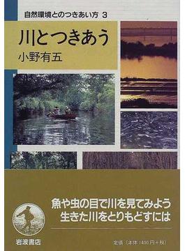 自然環境とのつきあい方 3 川とつきあう