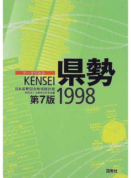 データでみる県勢 1998