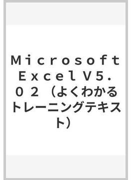 Microsoft Excel V5.0 2