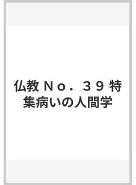 仏教 No.39 特集病いの人間学