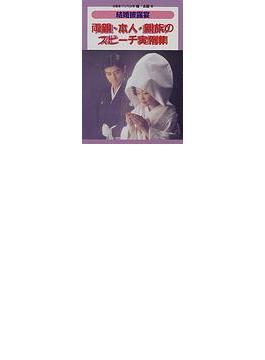 結婚披露宴両親・本人・親族のスピーチ実例集