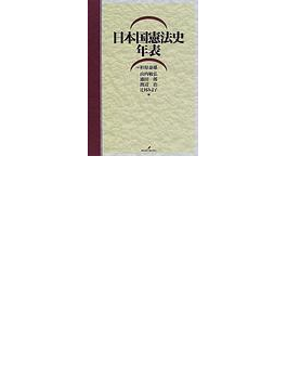日本国憲法史年表