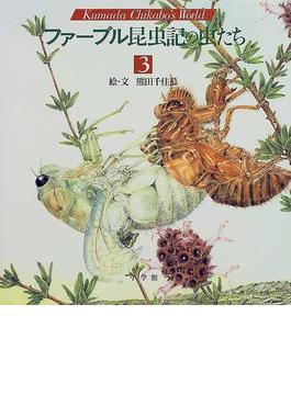 ファーブル昆虫記の虫たち Kumada Chikabo's world 3