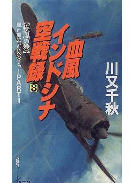 血風インドシナ空戦録 3 疾風の巻(FUTABA NOVELS(フタバノベルズ))