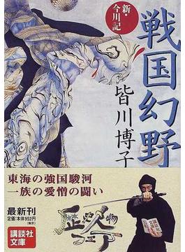 戦国幻野 新・今川記(講談社文庫)