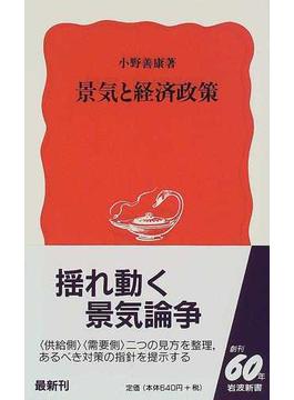 景気と経済政策(岩波新書 新赤版)
