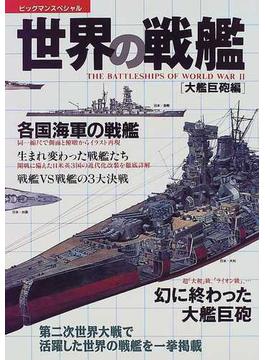 世界の戦艦 大艦巨砲編(ビッグマン・スペシャル)