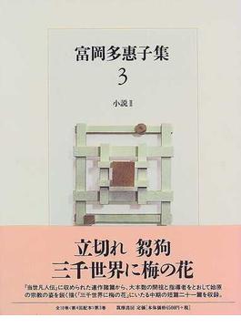 富岡多惠子集 3 小説 2