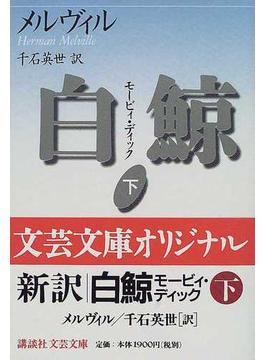 白鯨 モービィ・ディック 下(講談社文芸文庫)