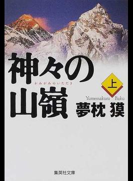 神々の山嶺 上(集英社文庫)
