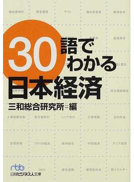 30語でわかる日本経済(日経ビジネス人文庫)