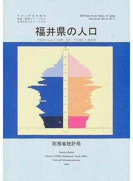 都道府県の人口 その18 福井県の人口