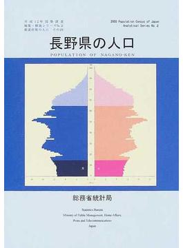 都道府県の人口 その20 長野県の人口
