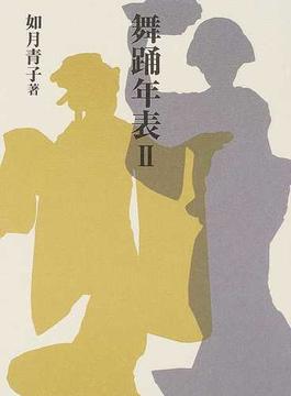 舞踊年表 2 昭和五十一年(一九七六年)〜昭和六十年(一九八五年)