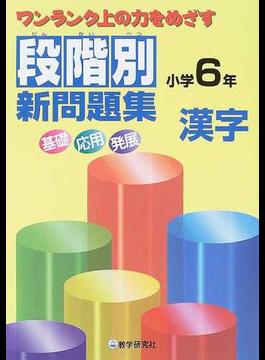 段階別新問題集小学6年漢字