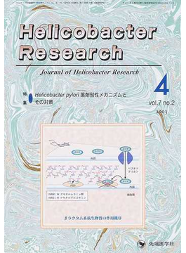 Helicobacter research Journal of helicobacter research Vol.7no.2(2003) 特集・Helicobacter pylori薬剤耐性メカニズムとその対策