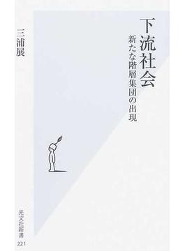 下流社会 第1章 新たな階層集団の出現(光文社新書)