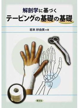 解剖学に基づくテーピングの基礎の基礎