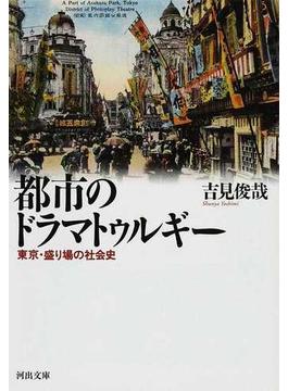 都市のドラマトゥルギー 東京・盛り場の社会史(河出文庫)