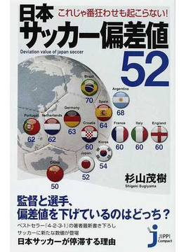 日本サッカー偏差値52 これじゃ番狂わせも起こらない!(じっぴコンパクト新書)