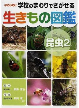 学校のまわりでさがせる生きもの図鑑 ハンディ版 昆虫2