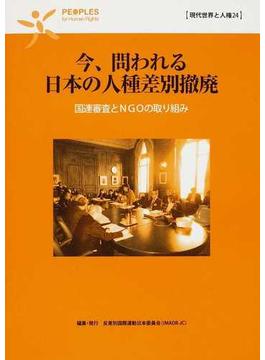 今、問われる日本の人種差別撤廃 国連審査とNGOの取り組み
