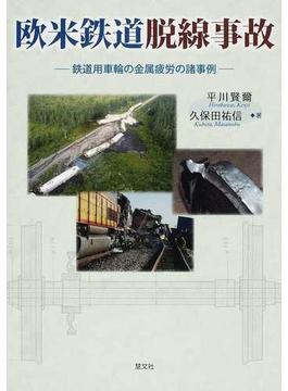 欧米鉄道脱線事故 鉄道用車輪の金属疲労の諸事例