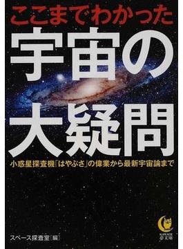 ここまでわかった宇宙の大疑問 小惑星探査機「はやぶさ」の偉業から最新宇宙論まで(KAWADE夢文庫)