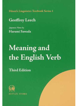 Meaning and the English Verb Third Edition