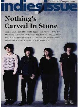 indies issue Vol.57(2011.06/07) ナッシングスカーブドインストーン イースタンユース ブラック・フラッグ
