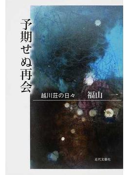予期せぬ再会 越川荘の日々