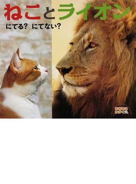 ねことライオンにてる?にてない?