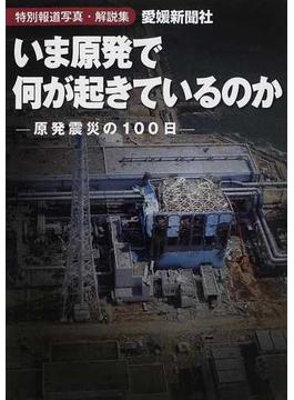 いま原発で何が起きているのか 特別報道写真・解説集 原発震災の100日