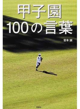 甲子園100の言葉