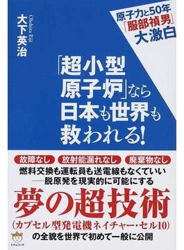 「超小型原子炉」なら日本も世界も救われる! 原子力と50年「服部禎男」大激白