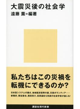 大震災後の社会学(講談社現代新書)