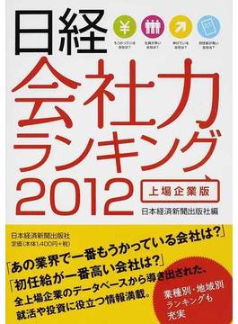 日経会社力ランキング 2012上場企業版