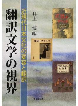 翻訳文学の視界 近現代日本文化の変容と翻訳