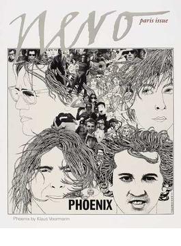nero paris issue Phoenix by Klaus Voormann Megaforce Charlotte Gainsbourg