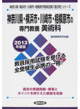 神奈川県・横浜市・川崎市・相模原市の専門教養美術科 2013年度版