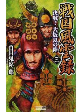 戦国風雲録 3 決戦!大坂夏の陣(歴史群像新書)