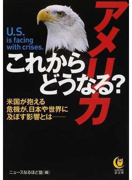 これからどうなる?アメリカ 米国が抱える危機が、日本や世界に及ぼす影響とは(KAWADE夢文庫)
