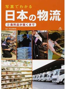 写真でわかる日本の物流 2 食料品が届くまで